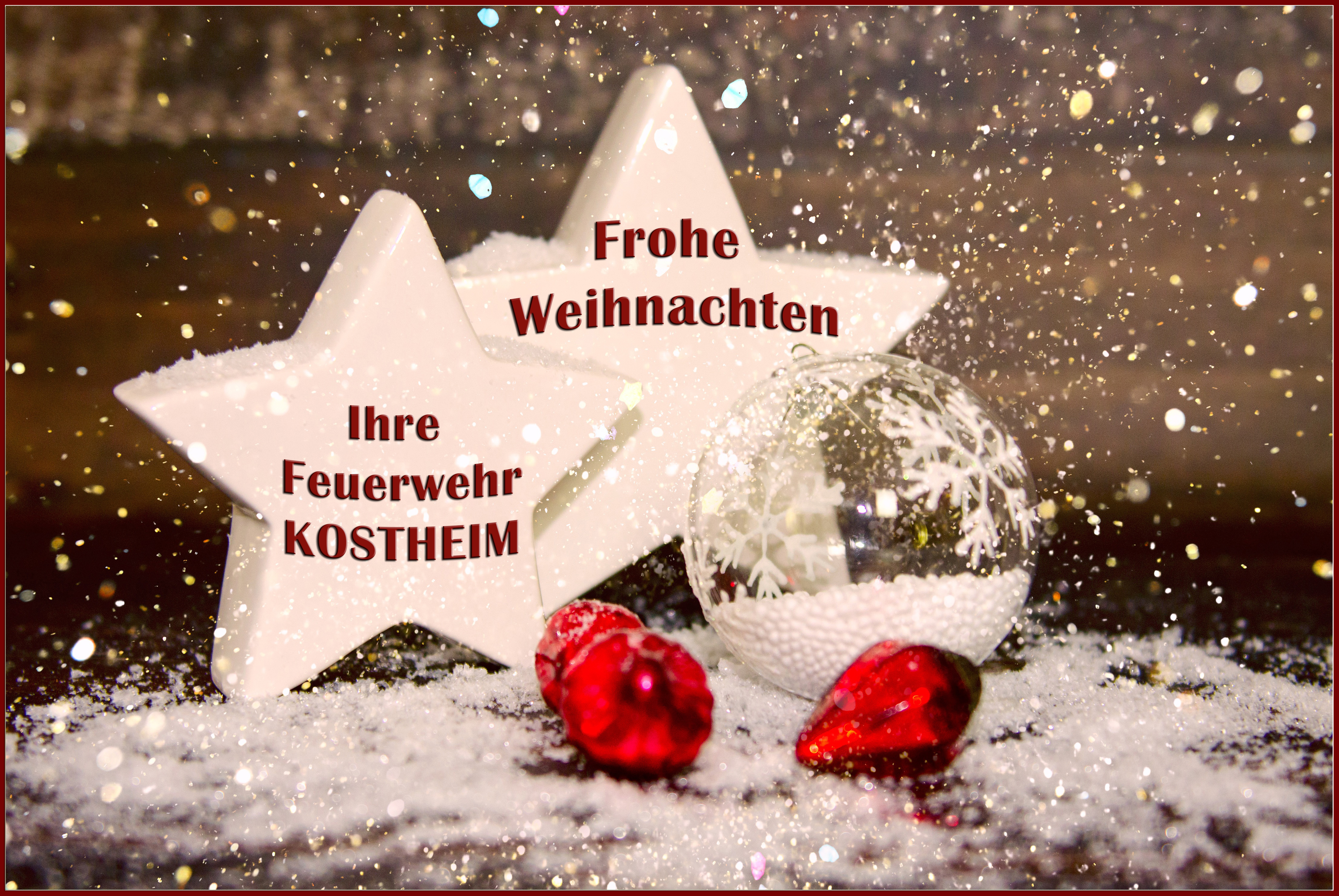 Ho Ho Ho Frohe Weihnachten.Ho Ho Ho Freiwillige Feuerwehr Mainz Kostheim 1874 E V